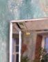 напольное зеркало в зеркальной раме с фацетом