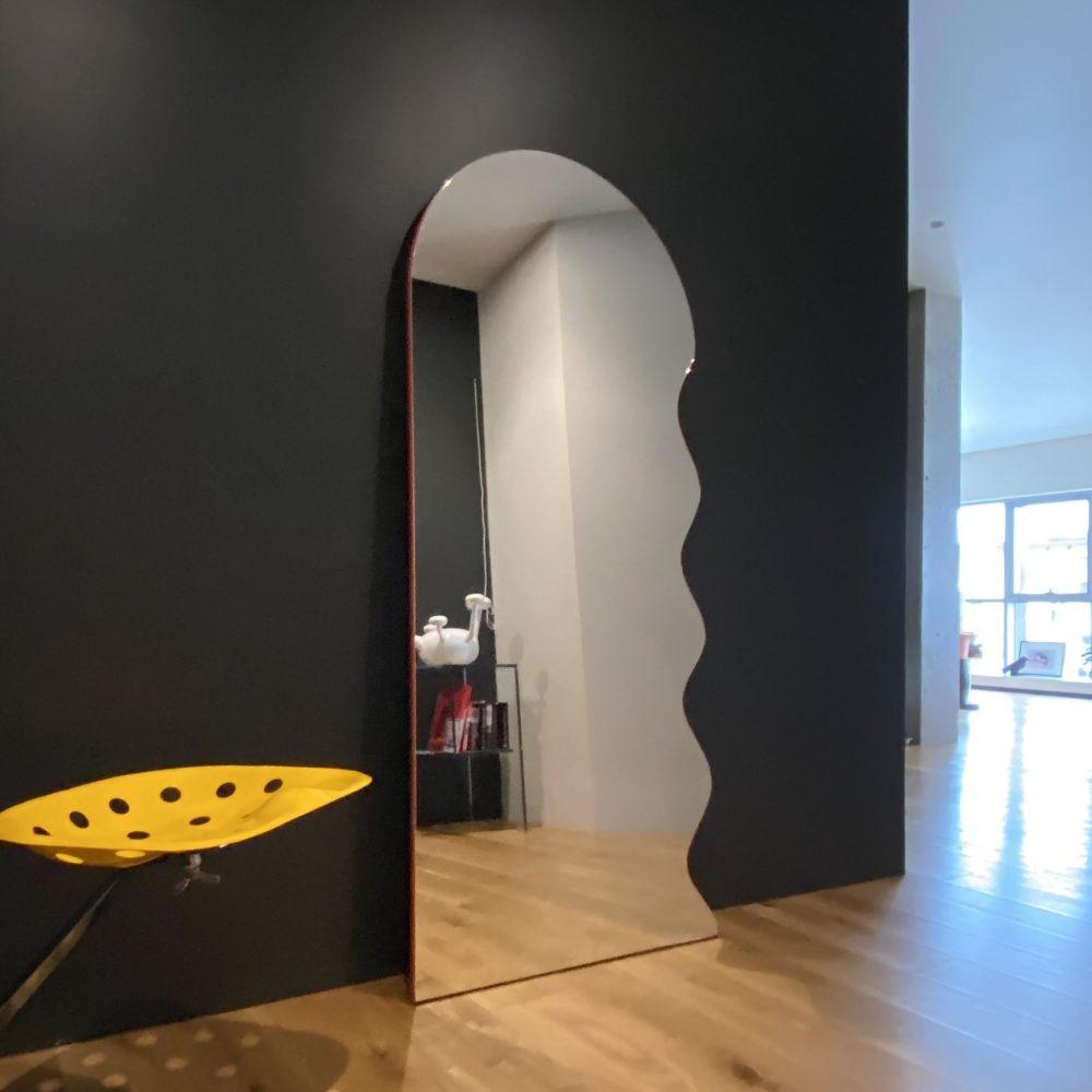 зеркало неправильной формы