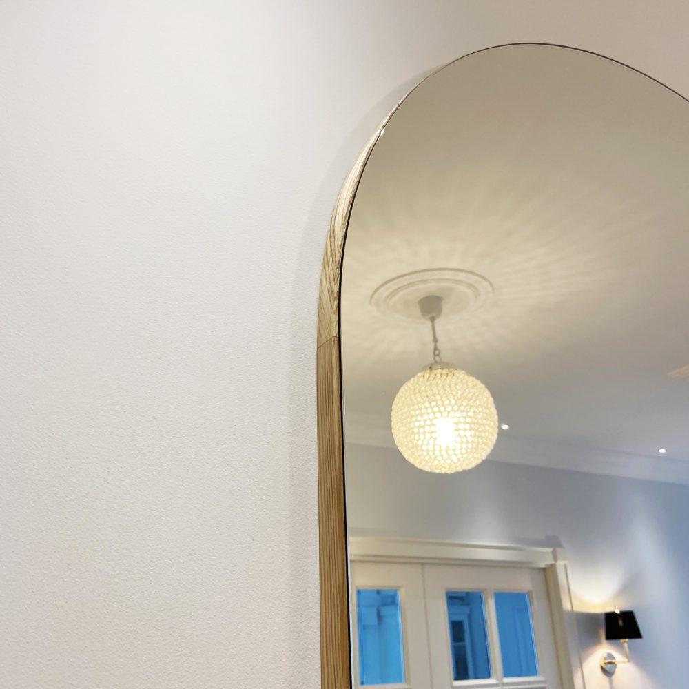 настенное арочное зеркало